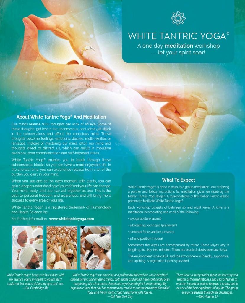 Tantra Yoga: White Tantric Yoga