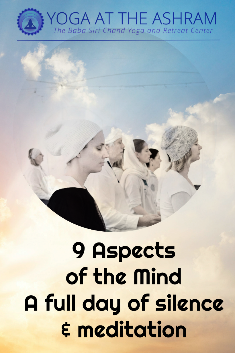 9 Aspects of the Mind: A Full Day of Silence and Meditation