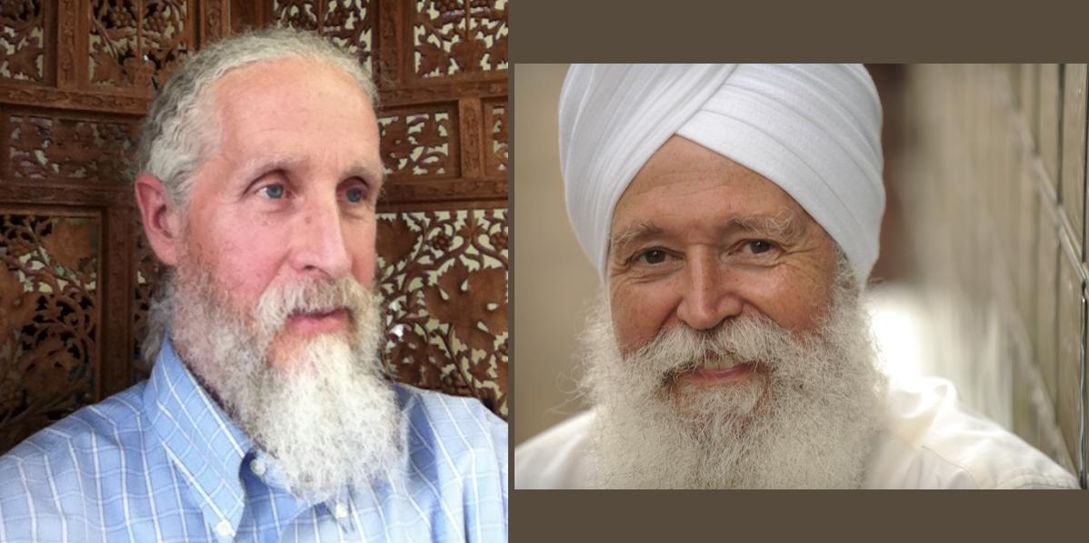 Gene Spence and Kartar Singh Khalsa